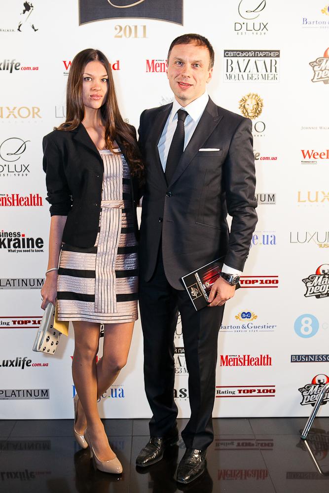 Максим Тимошенко с супругой